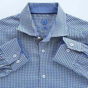 Bugatchi Uomo Mens Shirt SIze 16.5 I 32/33